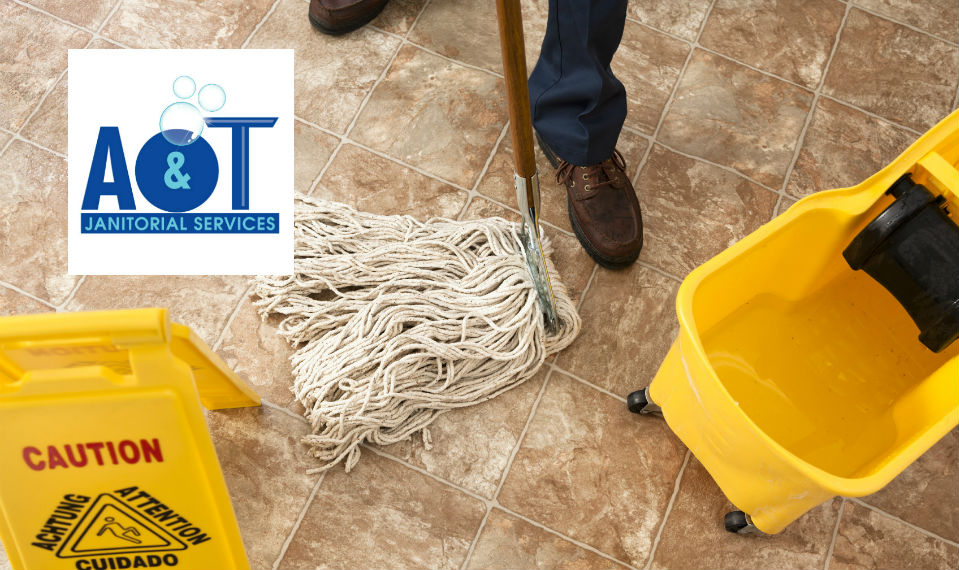 Missouri City TX office being mopped
