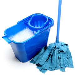 Pearland commercial cleaning companies mop & bucket