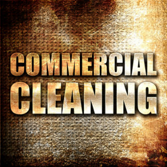 Commercial cleaning modern sign